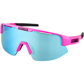 Bliz Matrix Small Nano Optics Nordic Light Brille shiny pink/smoke/blue multi